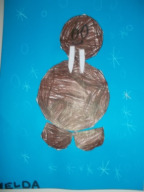 Nos arts visuels sur le thème de l'hiver