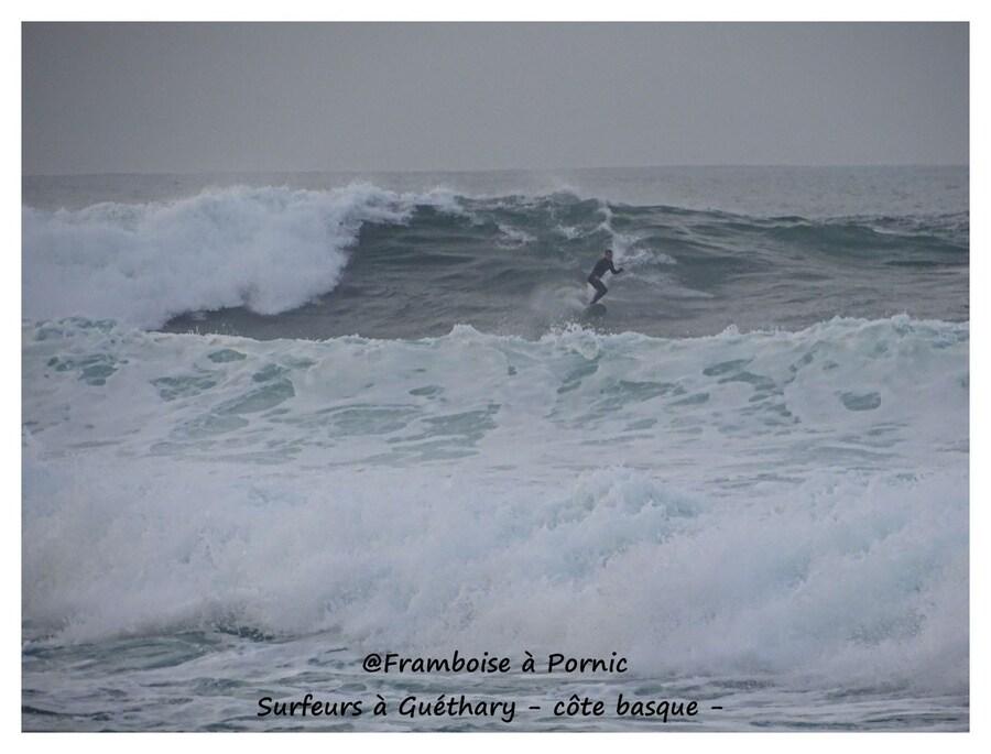 Guéthary, Surf sur la côte basque