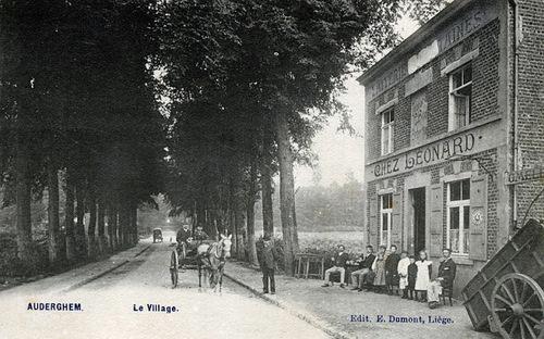 Le Carrefour Léonard avant qu'il ne devienne ce lieu incontournable pour entrer sur Bruxelles