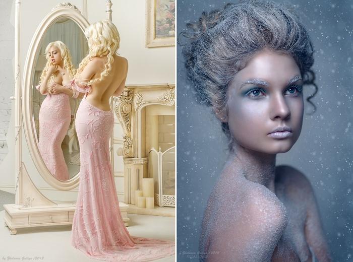 Fascinating portraits by the photographer Galiya Zhelnova