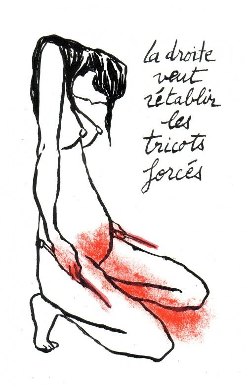 Les anti-IVG reprennent du poil de la Bête et manifestent tous les sa. à l'hôpital Tenon