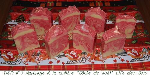 """Défi des Bulles n°3 """" Ma Bûche de Noël"""""""
