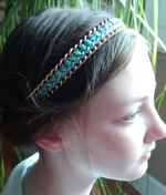 Headband chic pour effet choc