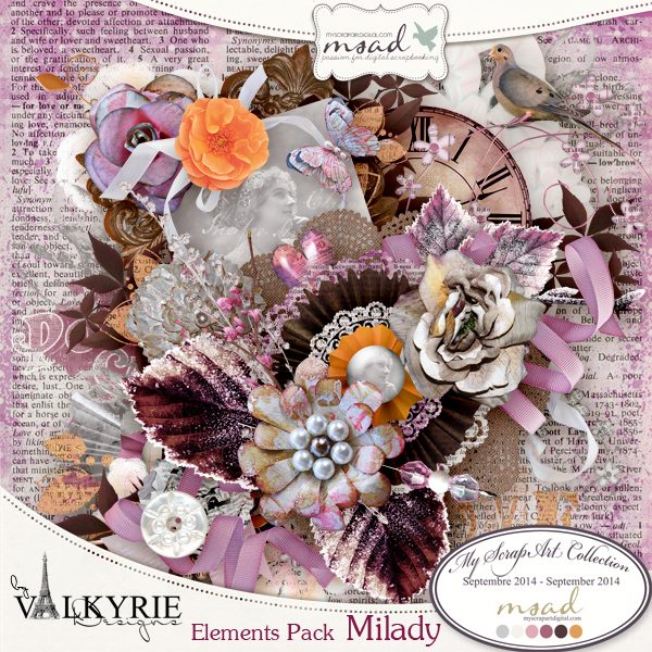 """Milady"" by Valkyrie Designs"