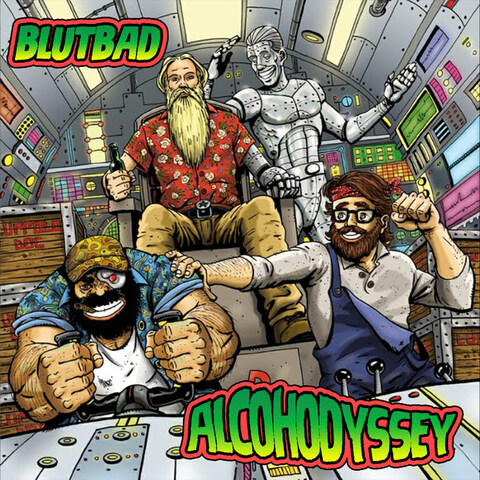 """BLUTBAD - Les détails du premier album Alcohodyssey ; """"Alcohodyssey Part.1"""" Clip"""