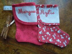 Mini bottes pour MARGAUX et AZILIS