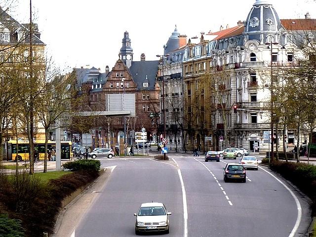 Autour du centre ville 17 Marc de Metz 27 01