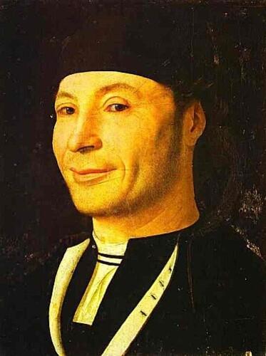 Antonello de Messine l'homme qui rit