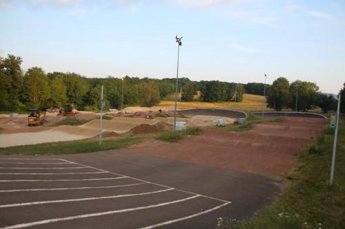 modification,piste BMX mandeure 2eme semaine 25 juin 1juillet 2018