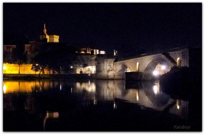 Avignon by night