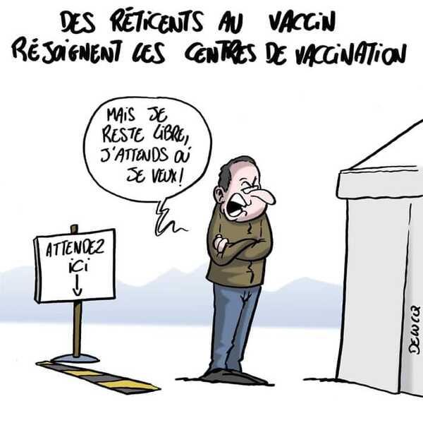 Rions du Pass Sanitaire...