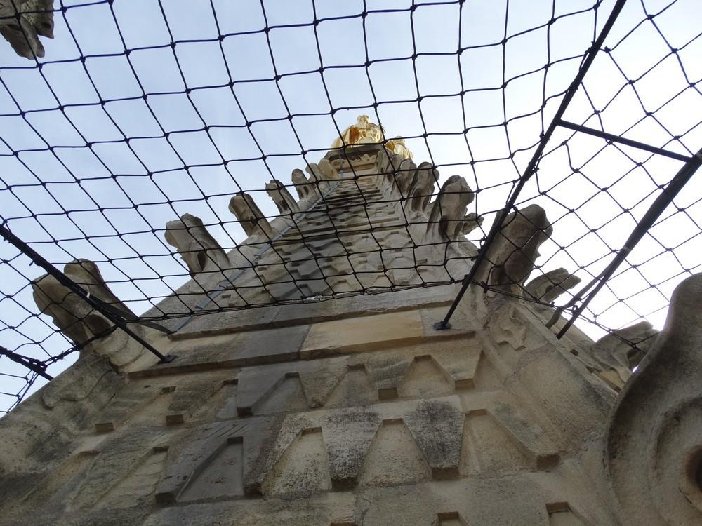 Le sourire de Notre-Dame d'Aquitaine...