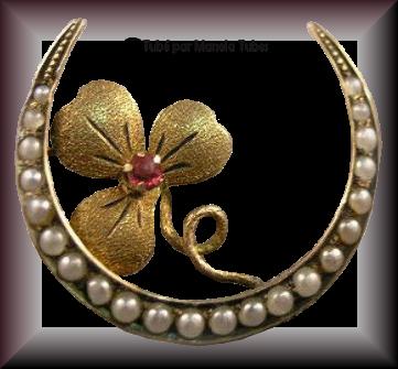 Tube bijoux St Patrick 2975