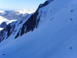 Pic de Coste Oueillère : 1400 m au frigo !