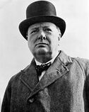 Sir Winston Churchill en 1942.