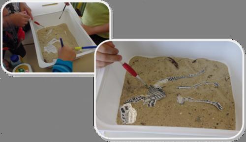 Les petits Paléontologues