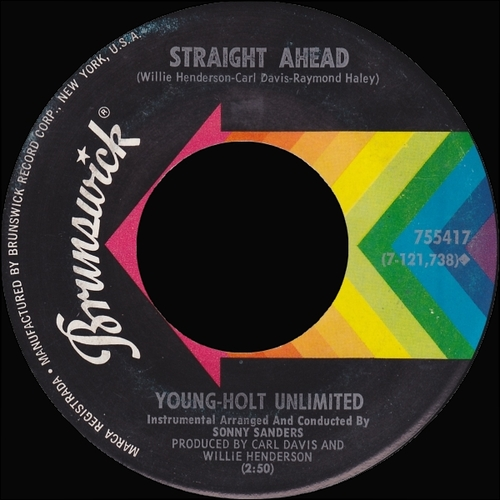 Young Holt Unlimited : Single SP Brunswick Records 755417 [ US ]