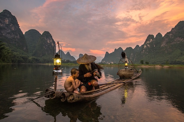 Moments In China - L'Image Magique & Fascinante De La Matinée