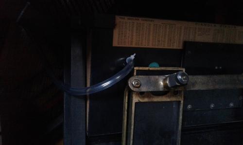 Pianola Steck : premières réparations