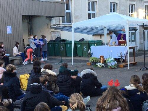 Messe de l'Avent du collège vendredi 18 décembre