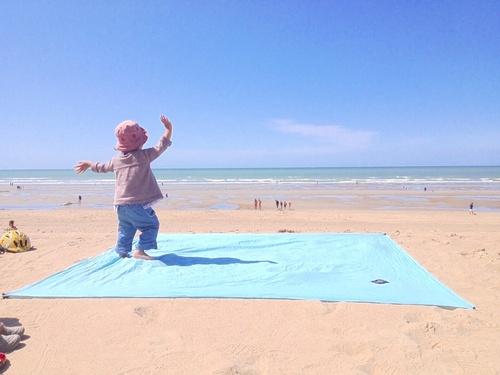 J'ai testé pour vous : le drap de plage OBABA ( CONCOURS )