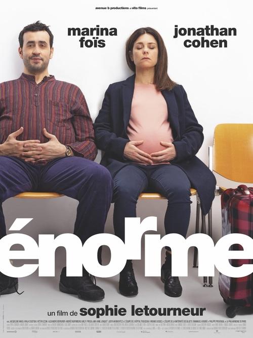 ÉNORME - Découvrez la bande-annonce du nouveau film de Sophie Letourneur avec Marina Foïs et Jonathan Cohen !