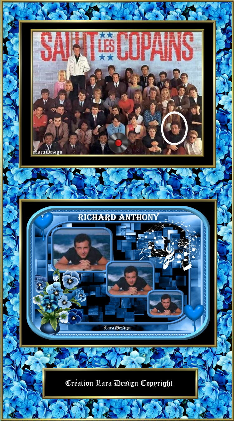 """""""Salut les copains"""" Richard Anthony"""
