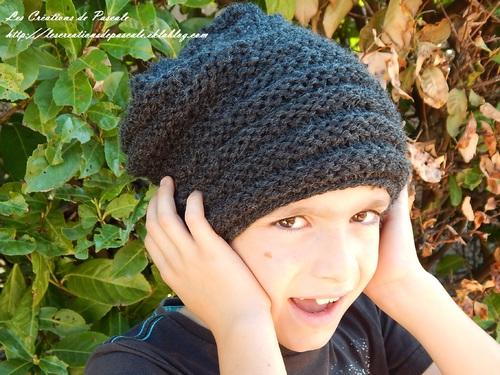 *Le bonnet mixte c'est chic!