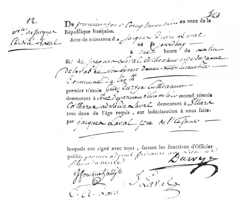 Biographie du Père Jacques-Désiré LAVAL