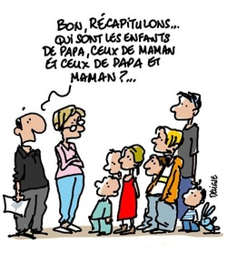 LES FAMILLES RECOMPOSEES