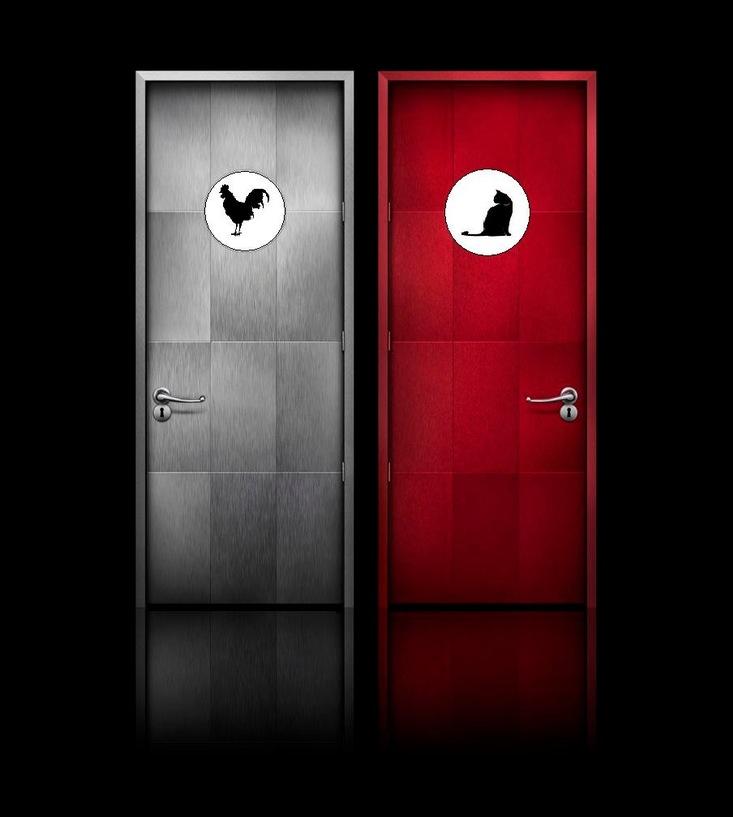 Portes De Toilettes