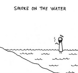 Smoke on the water, Deep Purple