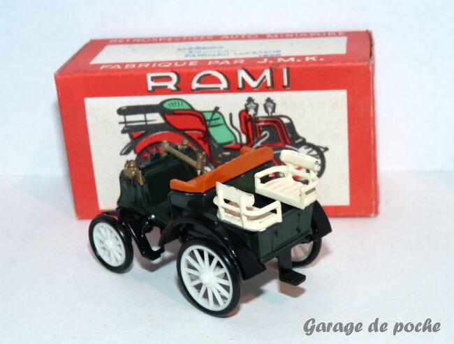 "Panhard et levassor ""tonneau "" 1895 RAMI JMK"