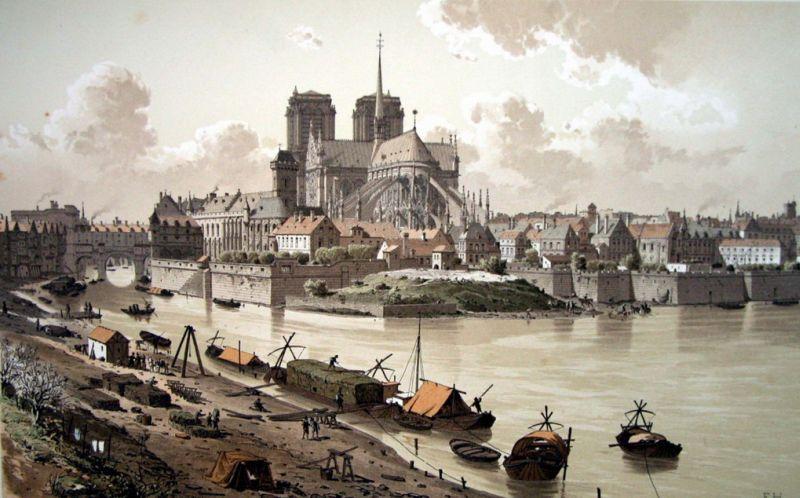 Notre Dame de Paris : d'hier et d'aujourd'hui
