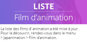 Liste Film d'animation
