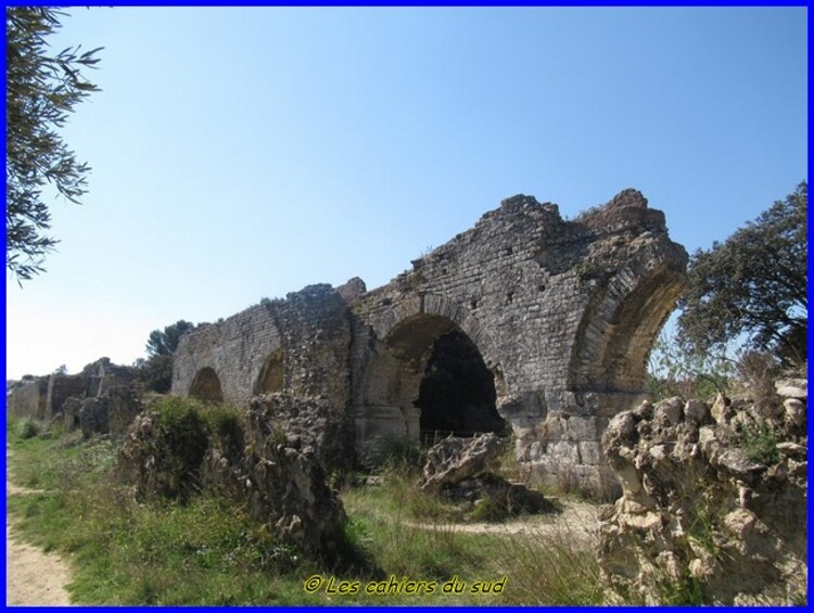 L'aqueduc romain de Barbegal