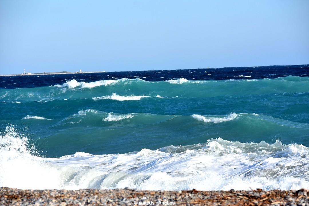 Couleurs de la mer - Antibes