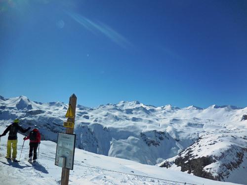 Fin de saison à Tignes Savoie 73 France