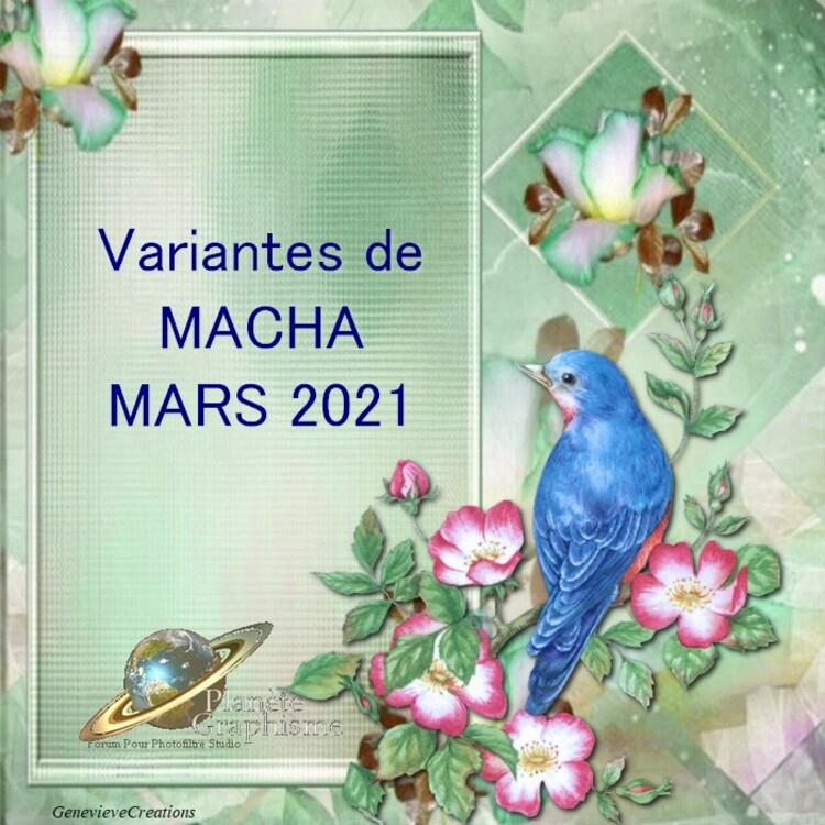 Variantes du mois de Mars 2021