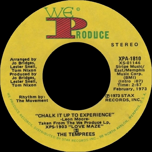 "The Temprees : Album "" Love Maze "" We Produce Records XPS-1903 [ US ]"