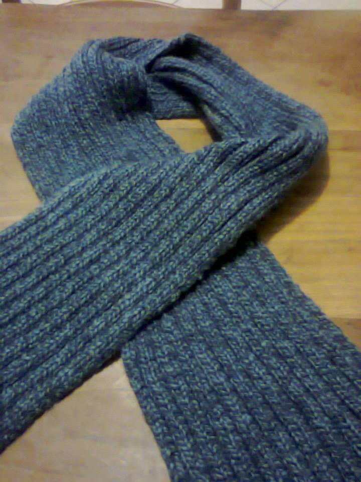 style distinctif San Francisco offrir des rabais Echarpe tricoter en côte 2/2 - tricots de steph