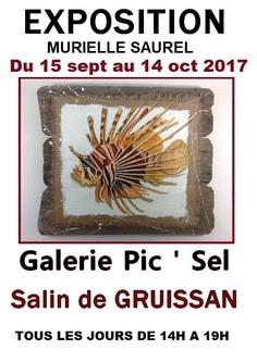 Exposition du 15 septembre au 15 octobre 2017