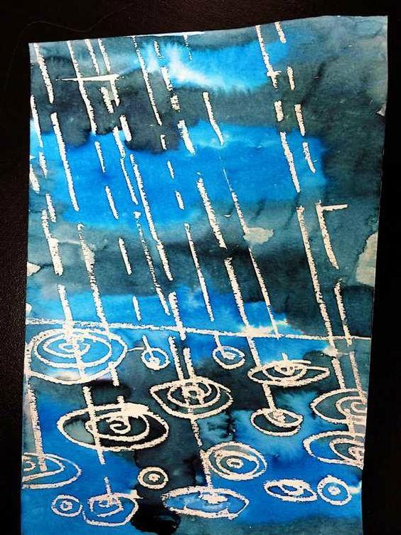"""Idée Pinterest (de saison) : """"La pluie"""""""