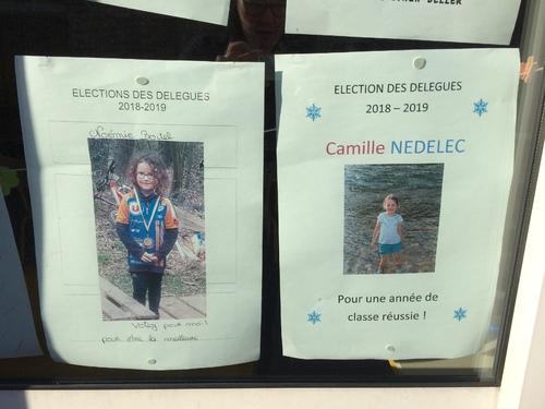 Candidats aux élections de délégués GS-CP