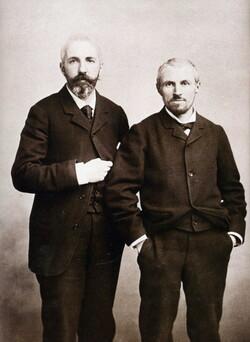 Martial et  Gustave CAILLEBOTTE