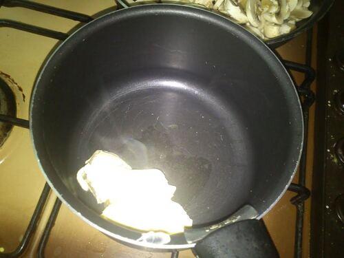 Un feuilleté champignon/emmenthal...comme un friand