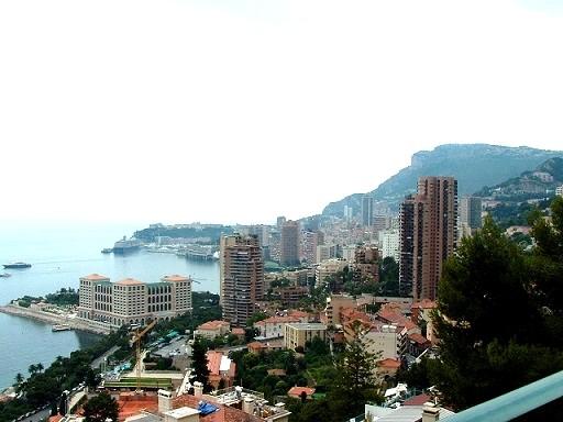 La côte d'Azur: la ville de Beausoleil ou «le Monte Carlo Supérieur» un cadre inoubliable......