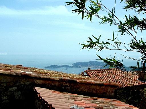 Côte D'Azur:Eze un village médiéval du XIVe Siècle, un des plus beaux de Provence