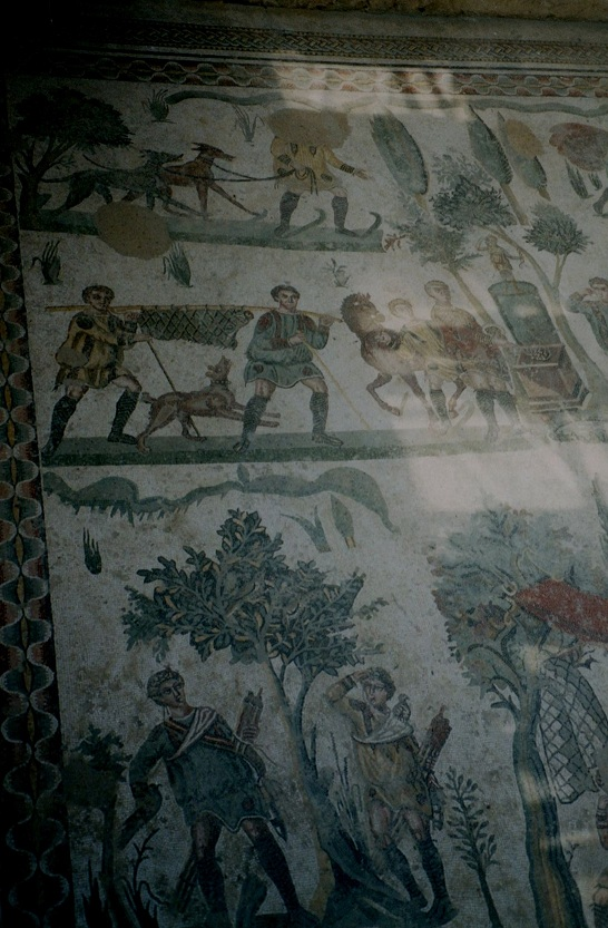 SICILE- La Villa romaine impériale «Del Casale»,un chef d'œuvre de mosaïque,inscrit au patrimoine Mondial de l'UNESCO »