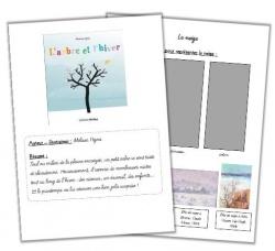 """Traces écrites """"L'arbre et l'hiver"""""""